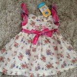 Платье-Туника летнее на девочку код С - 140