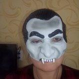 Маска на Хеллоуин Дракулы взрослая.