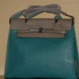 сумка Hermes Dual Серо-Голубой цвет