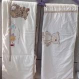 Белье детское в кроватку mothercare.