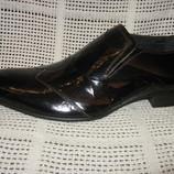 Туфли натур.лаковая кожа TEZORO р.43