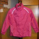 Брендовая куртка-ветровка Pocopiano и ID на девочку р.140-152