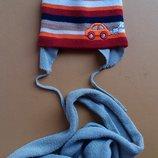 Деми шапочка шарфик