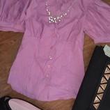блуза итальянcкая р.S новая