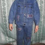 Костюм джинсы на мальчика от 3 года размер 92,98,104