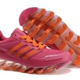Женские кроссовки Adidas Springblade - розовые