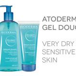 Биодерма мыло и гель для душа Атодерм 1 литр и 100 мл Bioderma, Atoderm, Gel, Douche очень дешево