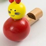 Деревянная игрушка Свисток свистулька РАЗНЫЕ