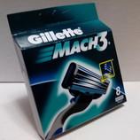 Gillette Mach 3 POLAND 8шт