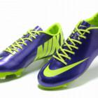 Бутсы Nike Mercurial Vapor - синие салатовый
