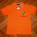 В наличии Поло футболка Ralph Lauren Porsche оранжевое голубое, желтое, белое
