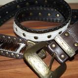 кожаный брендовый пояс итальянский Rinascimento оригинал-эксклюзив