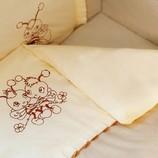 Красивое Детское постельное белье в кроватку.Пчелки