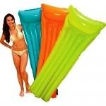 Матрац пляжный надувной прозрачный INTEX 183-69 см