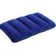 Подушка надувная синяя INTEX 48-32 см