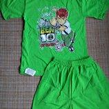 Футболка, шорты. Комплект летний для девочки мальчика.