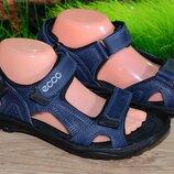 Сандалии шлепанцы кожаные М6 качество ECCO 40 41 42 43 44 45