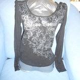 Блузочки с длинным рукавом р.44-46