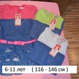 Джинсовые платья для девочек
