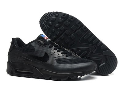 05ff0079 Женские кроссовки Nike Air Max 90 Hyperfuse - черные pluse: 1060 грн ...