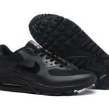 Женские кроссовки Nike Air Max 90 Hyperfuse - черные pluse
