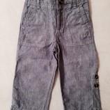 Легкие штаны - трансформеры Baby Gap на 2-3 года. Стильные джинсы, шорты, бриджи летние.