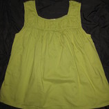 блузка туника Zara на 10-12 лет, Зелёная