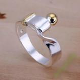стильное кольцо реплика dior серебро 925