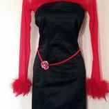 Вечернее платье - бандо, корсет Motivi. S/M. Италия. Новогодний, карнавальный костюм. Ведьмочка.