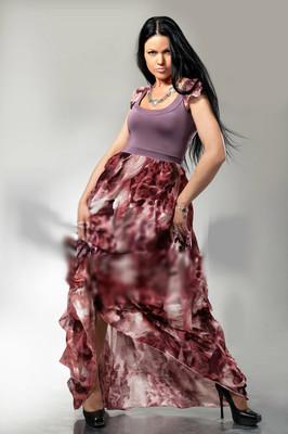Эксклюзивная модель Шикарное Платье в пол ЛАМБАДА