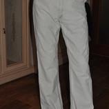 Мужские бежевые летние брюки из хлопка отличное состояние и качество