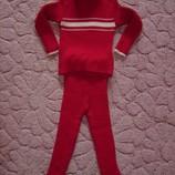 Продам на девочку 1-3 года трикотажный костюмчик на зиму
