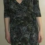 Платье с запахом трикотаж