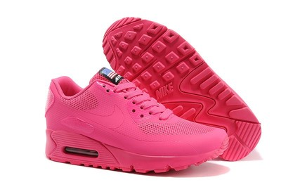 aa7e65ec6c01 Женские кроссовки Nike Air Max 90 Hyperfuse - ярко-розовые  1060 грн ...