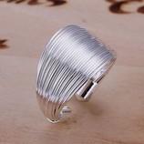 Кольцо открытое жгутик 925 серебро проба