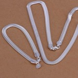 Набор Змейка 925 серебро проба Браслет и цепочка