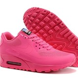 Женские кроссовки Nike Air Max 90 Hyperfuse - ярко-розовые