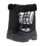 Водонепроницаемые зимние сапоги Tundra Boots Kids,100%оригинал,куплены в Сша. Цвет black/white/wave