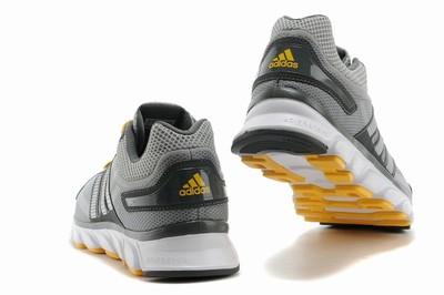 online store 48bff 4fdb6 Кроссовки Adidas ClimaCool 2014 - серый с желтым
