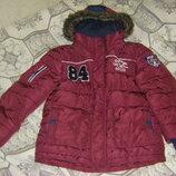 Оригинальная осенее-зимняя куртка Джордж 128 - 134 см