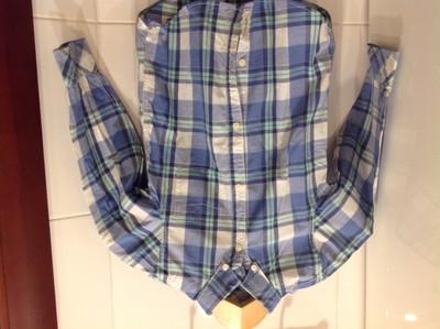 Легкая стильная рубашка в нежную клетку H&M 116 на 5-6 лет