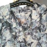 Снизила Цену нтересная блузка под шифон с рюшами. Недорого