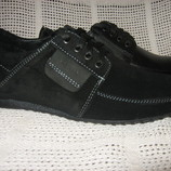 Стильные туфли-мокасины натур.кожа или натур. замш VAN KRISTI