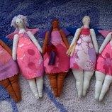 кукла, куколка -Тильда маленькие