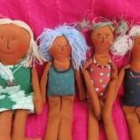 Маленькие куколки, кукла, куколка ручной работы