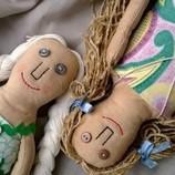 Авторская кукла чердачная ручной работы коллекционная куколка