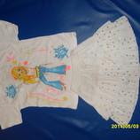 Футболочка и юбка 4-7 лет