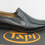 Туфли TAPI натур.кожа р.46-48 мод.1800 Польша