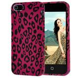 Чехол для iPhone 5 5s с леопардовым принтом Mark Jackobs purple leopard