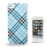 Жесткий чехол Burberry для Iphone 5/5s с фирменной клеткой burberry print